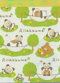 Memoblok Rilakkuma -  Relax Forest (klein)