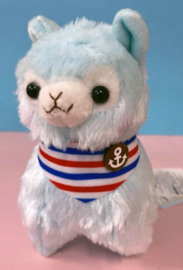 AMUSE Alpacasso Marine small Plush blue (17cm)