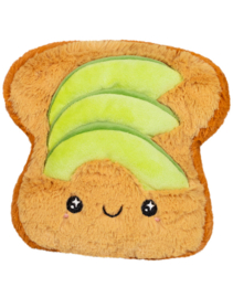 Squishable Snugglemi Snackers - 5 inch avocado toast