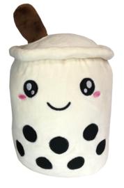 Kawaii Soft Boba Plush Medium White