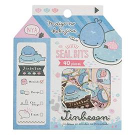 Sticker pouch Jinbesan Seal Bits