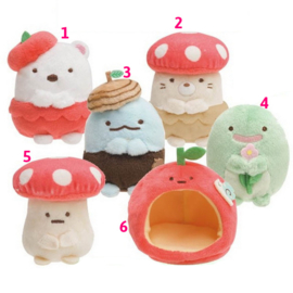 Mini Plush Sumikkogurashi Forest Friends (pick one)