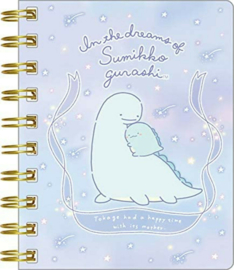 Notebook klein Holo Sumikkogurashi Lizard Dream Tokage Sweet