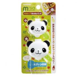 Bento Sauce Cups Panda