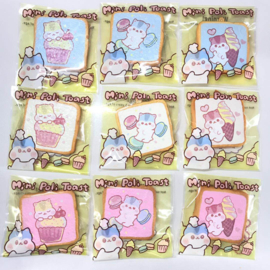 Squishy-Anhänger Mini Poli Toast - Pick one