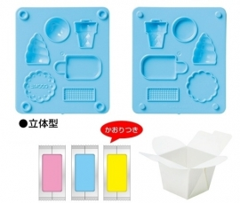 Kutsuwa Eraser Kit DIY Icecream