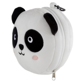 Releaxeazz Plushie Panda travel pillow with sleeping mask