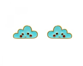 Kawaii Earrings - Cloud