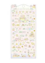 Stickersheet San-X Sumikkogurashi Minikko To Osako - Pink