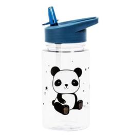Drinkfles met rietje Panda