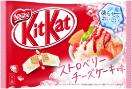KitKat mini Freezable - Strawberry Cheesecake - 13 minis