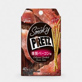 Glico Pretz Smoky Bacon