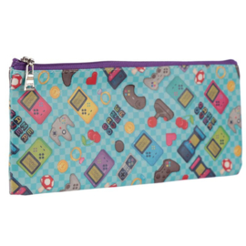Game Over Pencil Case Blue
