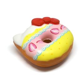Hello Kitty Fruit Donut Squishy