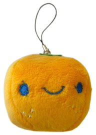 Plushie kawaii orange