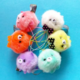 Pometan Fuwapom charm Neon - choose your colour