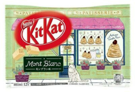 KitKat mini Mont Blanc - zak 12 stuks
