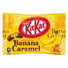KitKat mini Banana Caramel - zak 12 stuks
