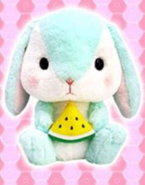 Amuse  Loppy Rabbit XL plush - Mint (41 cm)