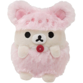Korilakkuma plush San-X - 11cm -  Pink cute hat