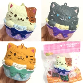 Squishy Cafe Sakura - Neko Cupcake - Pick one
