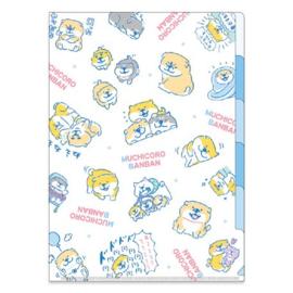 A4 Insteekmap (5 tabbladen) Muchicoro Banban