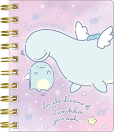 Notebook klein Holo Sumikkogurashi Lizard Dream Tokage Fly