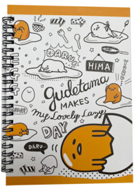 Notebook Sanrio Gudetama Lazy Day A5