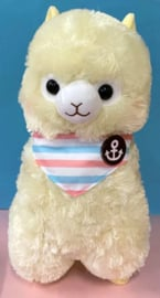 AMUSE Alpacasso Marine XL Plush yellow (45 cm)