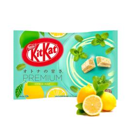 KitKat mini Premium Citrus Mint & White Chocolate - 12 pcs