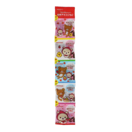 Rilakkuma Mugi-Choco strawberry - 5 mini packs