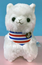AMUSE Alpacasso Marine small Plush white (17cm)