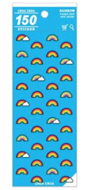 Stickersheet Korean Mart Rainbow