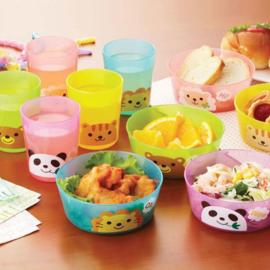 Plastic Party bowls Kawaii