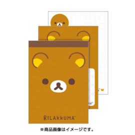 Memopad San-X Rilakkuma Face (medium)