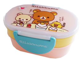 Kawaii bentobox double Rilakkuma Chopstick Yellow