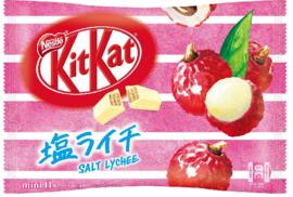 KitKat mini Shio Salty Lychee - zak 11 stuks