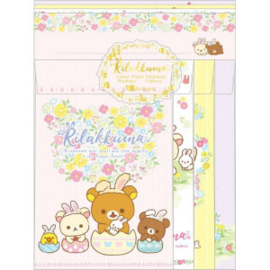 Briefpapier set San-X Rilakkuma Cute Rabbits