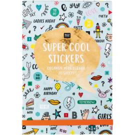 Aufkleber Stickerbuch Super Cool Mint