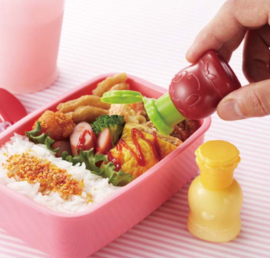 Mini-Soßebehälter Mayonnaise & Ketchup 'My Little Chef'