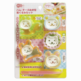 Kawaii Uitstekers / Cookie Cutters - Animals