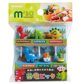 Kawaii Dinosaur - Food Picks für Bento Box Lunch Box