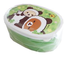 Bentobox San-X Rilakkuma Panda Flowerfield Medium
