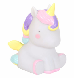 Kawaii Unicorn Light (tafellamp)