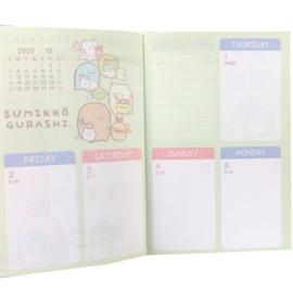 Agenda groß Sumikko Gurashi 2020-2021 - Choose your colour