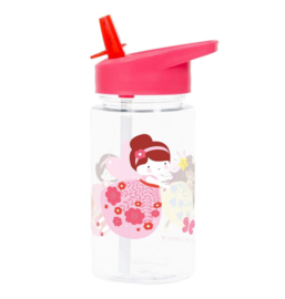 Drinking Bottle with Straw Fairy