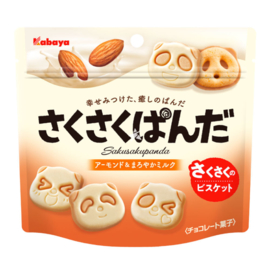 Kabaya Saku Saku Panda Almond