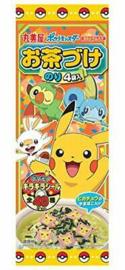 Pokémon Ochazuke - Topping voor Japanse Rijst Soep