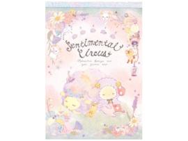 Memoblok San-X Sentimental Circus pastel