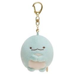 Sumikkogurashi dino plush blue 7cm - keychain